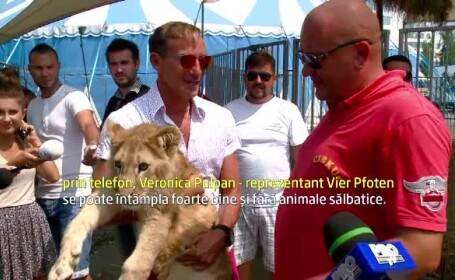 Reactia lui Mazare dupa ce iubitorii de animale l-au rugat sa nu aduca lei, camile, crocodili si pitoni la parada