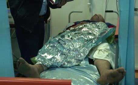 Barbat din Suceava, in stare grava, la spital, dupa ce si-a dat singur foc. Ce l-a determinat sa faca gestul