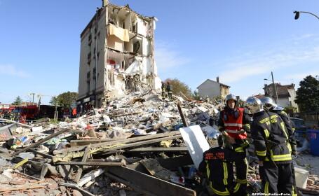 Explozie la un bloc din Franta