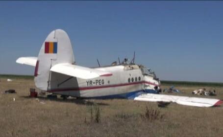 Avion prabusit in Braila