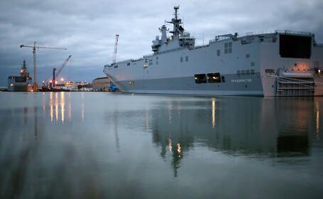 Franta a anuntat oficial un acord legat de navele Mistral: \