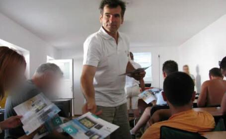 Mircea Craciun, pilotul planorului