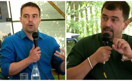 Liderii partidului extremist Jobbik, in tabara Tineretului Maghiar Ardelean: \
