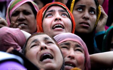 Ce se intampla cu o femeie musulmana din India, dupa ce sotul ei striga cuvantul \