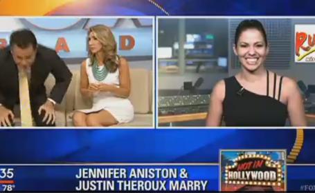 Un prezentator TV s-a enervat la culme cand a auzit ce se discuta in emisiunea lui si a plecat din platou: \