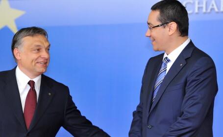 Victor Ponta, Viktor Orban cover - AGERPRES
