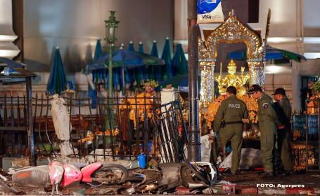 Atentatele din Bangkok. Familia fostului premier al Thailandei ofera recompensa de 17.000 EURO pentru prinderea teroristilor