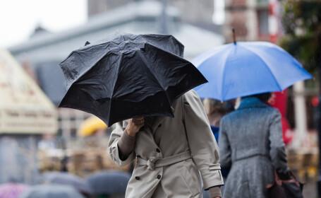 Vreme instabila, cu ploi si temperaturi de pana la 29 de grade. De luni, vremea se raceste in toata tara