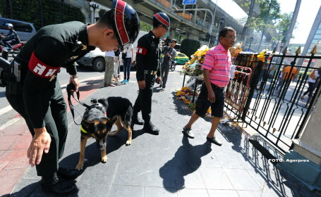 Atentatele din Bangkok. Thailanda va cere ajutor de la Interpol pentru a-l gasi pe principalul suspect, surprins de camere