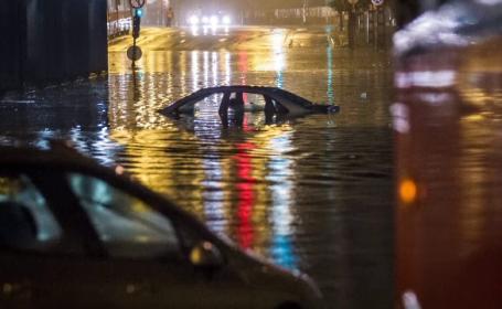 Imagini apocaliptice in Ungaria, dupa doua zile de ploi torentiale. Oamenii nu au mai iesit din case de frica apelor