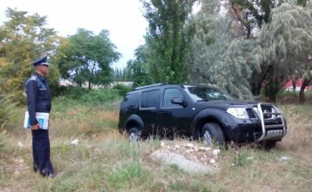 masina, politist, Constanta
