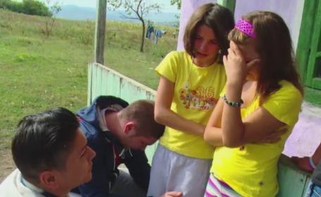 Impresionati de drama unei mame cu 5 copii, doi tineri i-au sarit in ajutor cu o campanie pe Facebook: \