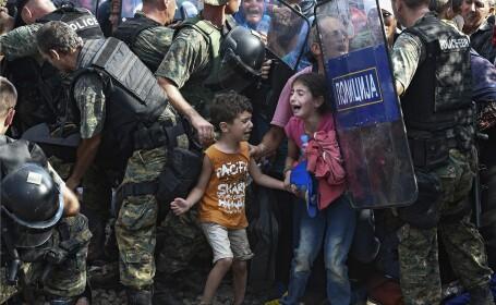 imigranti macedonia - agerpres
