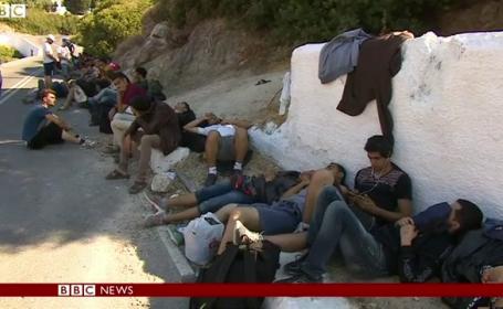 refugiati Grecia