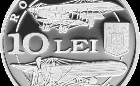 BNR a lansat noile monede de 10 lei, dedicate implinirii a 100 de ani de la constituirea Corpului de Aviatie Roman