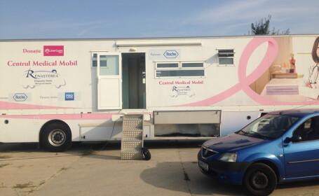 Pro TV sustine Fundatia Renasterea: Unitatea de Diagnostic Mobil ofera investigatii medicale gratuite la Eforie
