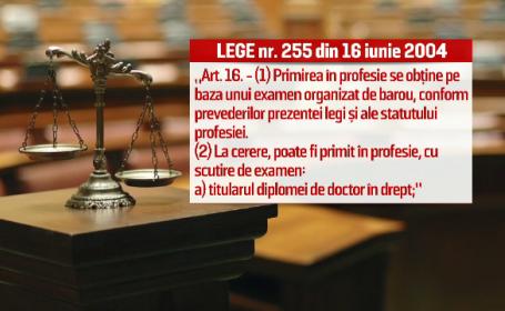Victor Ponta ar putea fi exclus din avocatura, dupa pierderea titlului de doctor. \