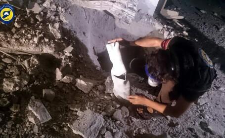 Kremlinul neaga orice implicare in atacurile cu gaz din Siria. 5 persoane au murit si alte zeci au fost intoxicate