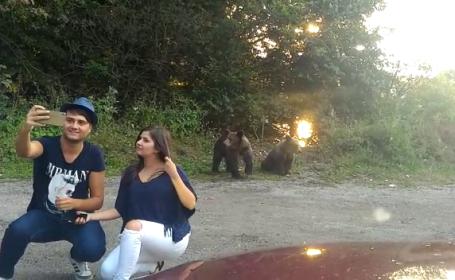 selfie cu ursul
