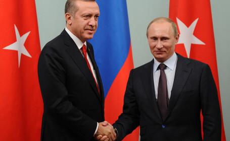 Putin anunta eliminarea sanctiunilor impuse Turciei. Ce inseamna pentru Europa si zona Marii Negre apropierea celor 2 state