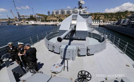 distrugator rusesc din clasa amiral Grigorovici in Sevastopol