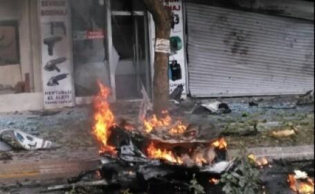Atentat sinucigas in Gaziantep. Trei politisti ucisi si alte cel putin opt persoane ranite