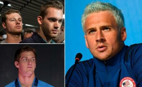 Patru inotatori americani, printre care si Ryan Lochte, au mintit ca au fost jefuiti la Rio. Ce au incercat sa ascunda