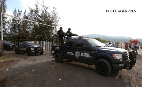 Masacru in Mexic, dupa ce politia a atacat o baza a traficantilor de droguri. 43 de oameni au murit in schimbul de focuri