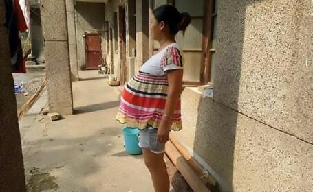 O tanara din China sustine ca a intrat in a 18-a luna de sarcina. De ce nu a putut sa nasca pana acum