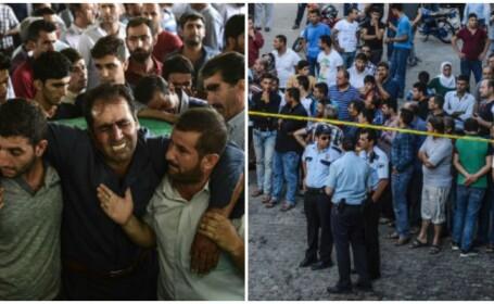 Autorul atentatului terorist din Turcia are intre 12 si 14 ani, spune Erdogan. Bilantul a crescut la 51 de morti