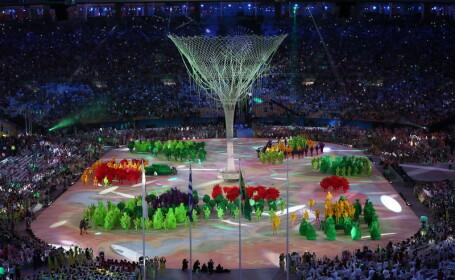 JO de la Rio au fost inchise cu o ceremonie fastuoasa, in ploaie.