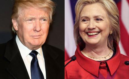 Donald Trump si Hillary Clinton