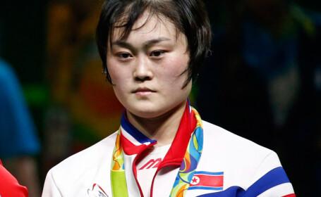 sportiva coreea de Nord