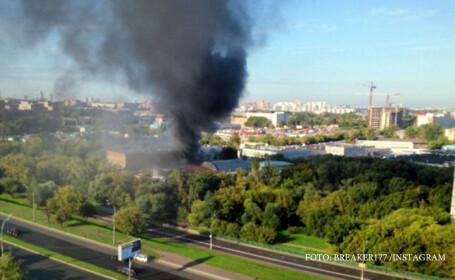 incendiu rusia