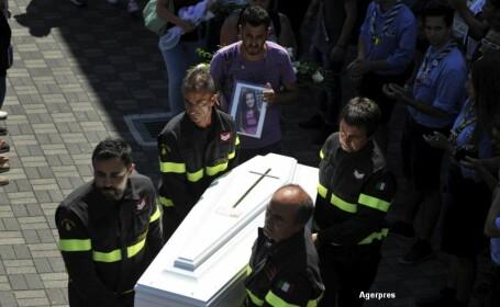 Cutremur in Italia. Slujba de comemorare in memoria victimelor. \
