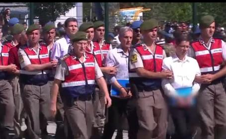 Parada cu sute de suspecti in Turcia. 486 de oameni sunt judecati dupa lovitura de stat esuata din 2016