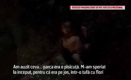 Abandonată de mama la naştere, o fetiţă a fost salvată de un trecător din tufişuri