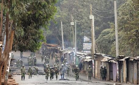 Proteste violente în Kenya