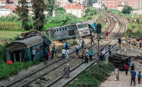 Bilanțul victimelor tragediei feroviare din Egipt s-a ridicat la 49 de morți