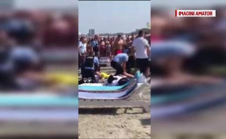 Opt interlopi, reținuți după ce s-au bătut pe o plajă din Mamaia