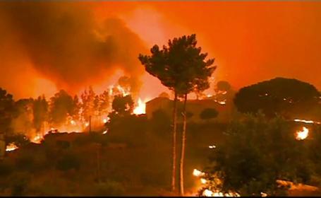 Incendii în Grecia