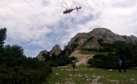 Sfârșit tragic pentru un turist străin, în Munții Piatra Craiului