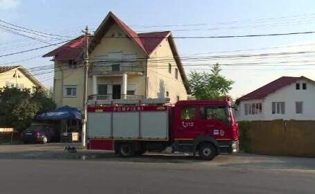 Incendiu la un depozit de alimente din oraşul Găeşti