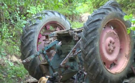 Accident tractor, Bistrița-Năsăud