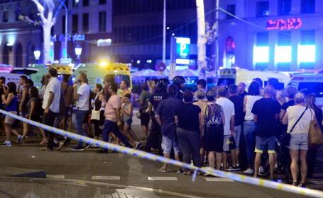Atentat în Barcelona. 13 morți și 100 de răniți după ce o dubă a intrat în mulțime. Doi suspecți au fost arestați