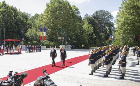 Macron, vizită oficială în România