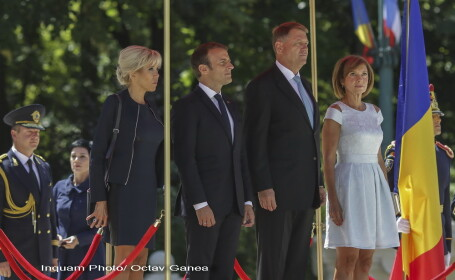 Brigitte Macron și Carmen Iohannis