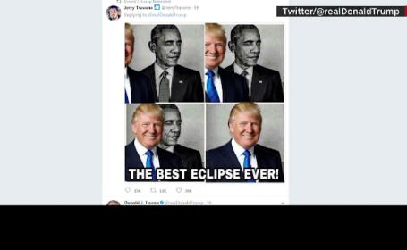 """""""Eclipsa Trump"""", cum și-a atacat președintele SUA predecesorul"""