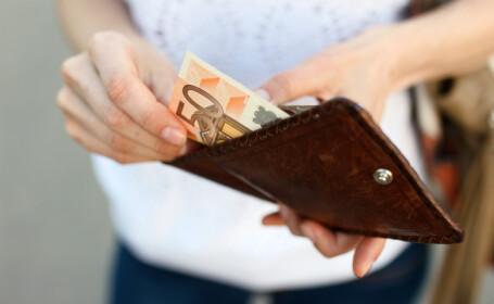 euro in portofel
