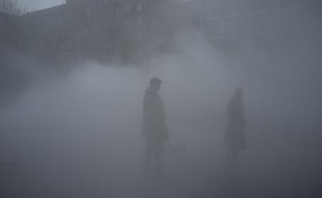 """100 de persoane, victime ale """"ceții toxice"""" din Marea Britanie"""